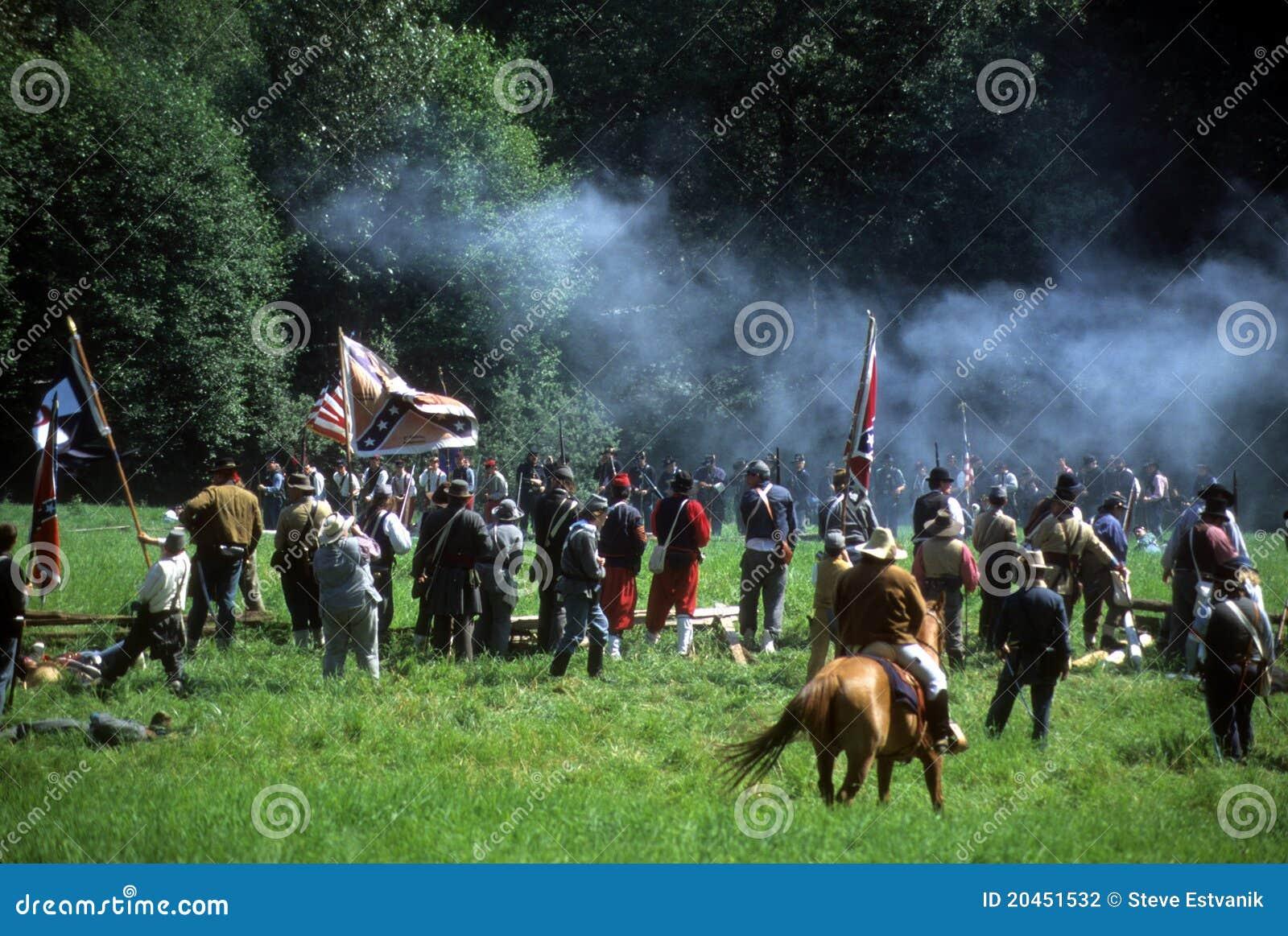 Konfederat podpala piechoty