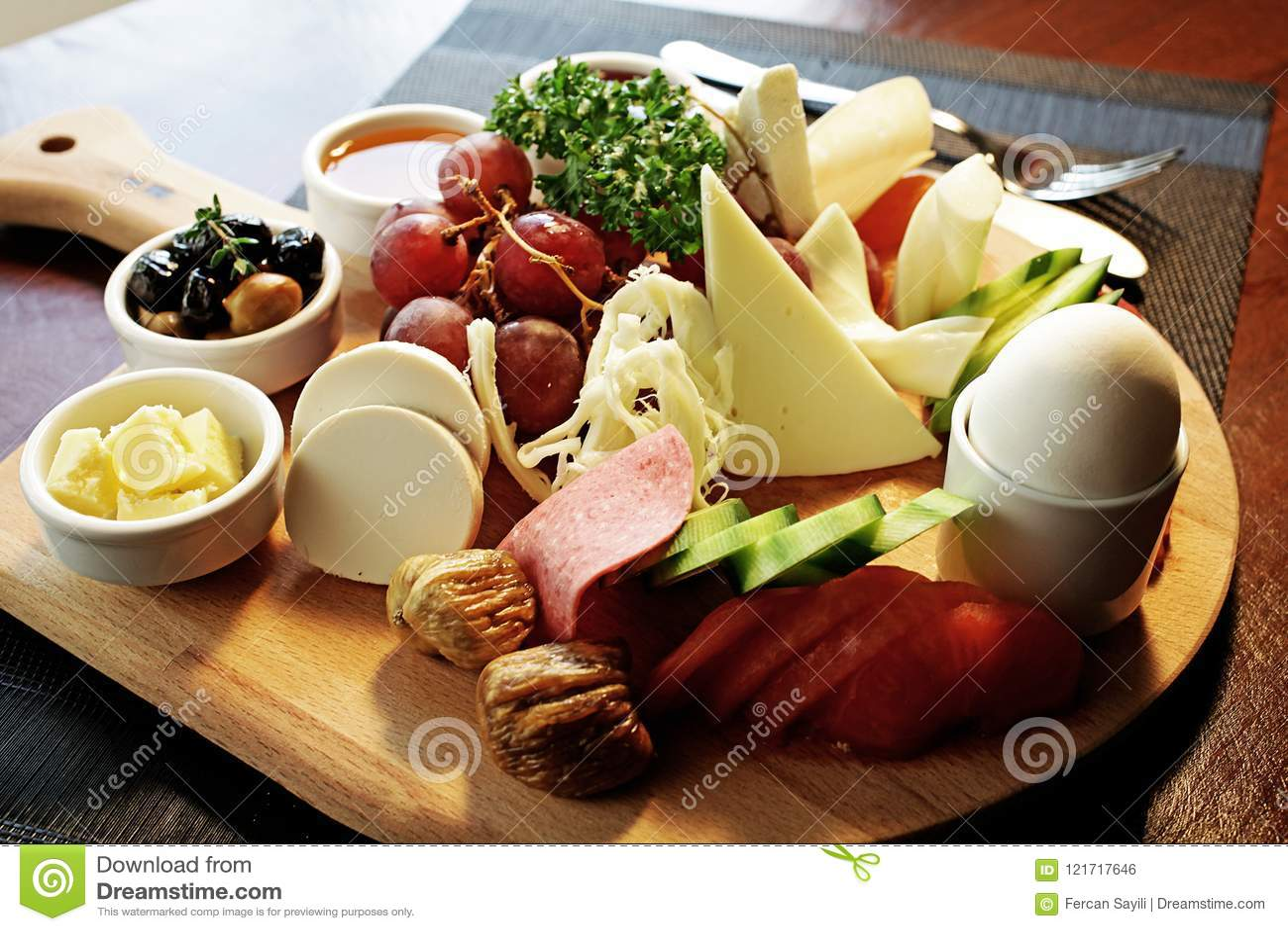 Konfektions- frukostplatta