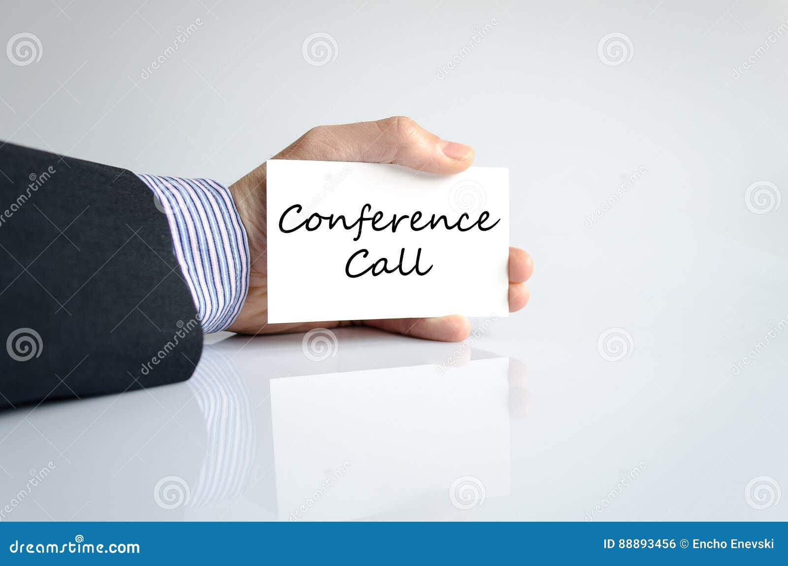 Konferencja telefoniczna teksta pojęcie