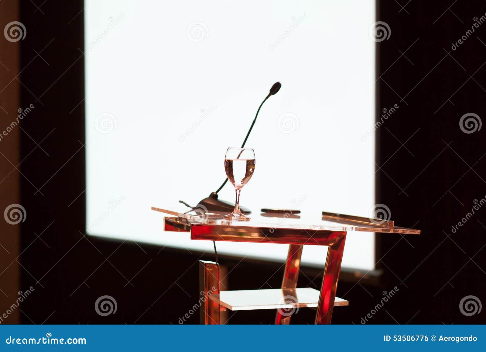 Konferencyjny prezentacja stół