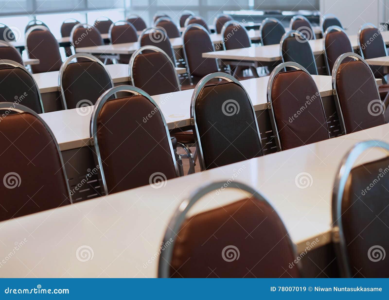 Konferenzsaal in der Universität für Studie