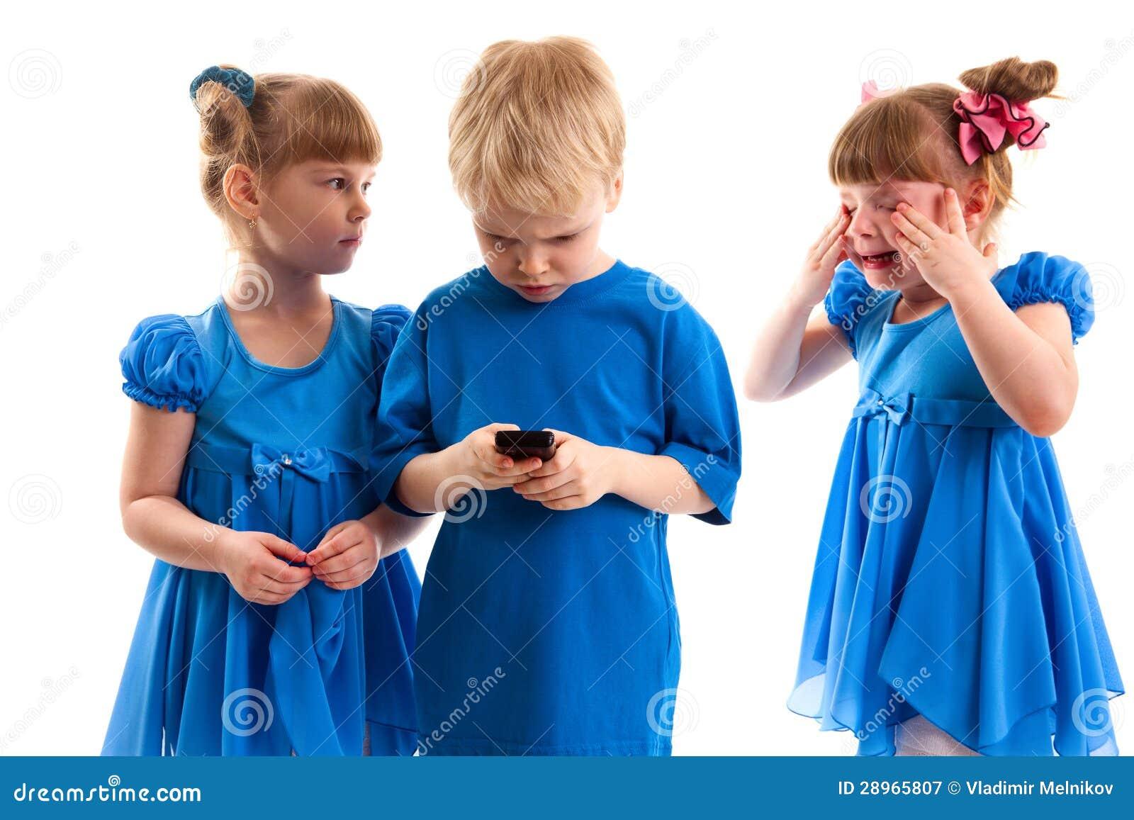 Konflikt nad telefonem