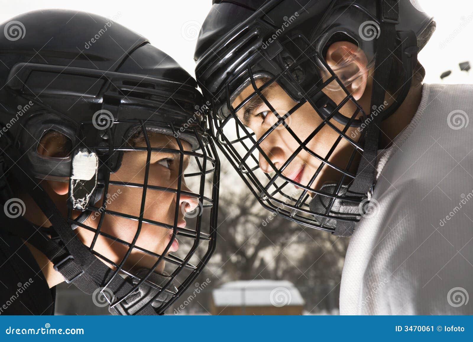 Konfrontacja w hokeja lodu