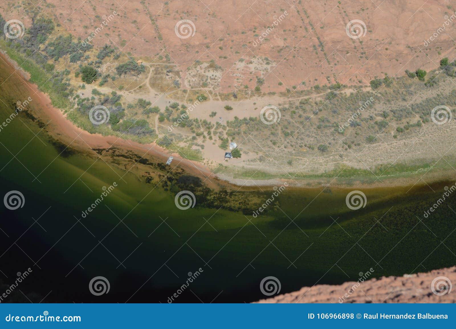 Konia buta chył arizona Colorado podkowy rzeka usa geom