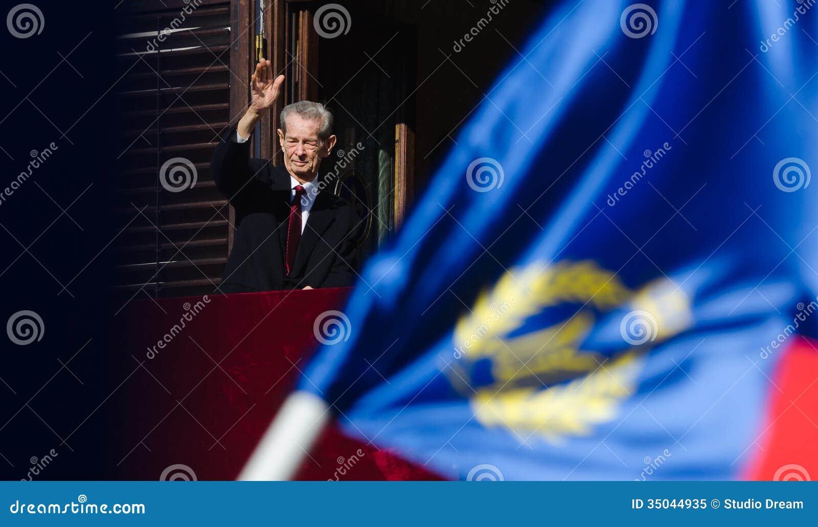 Koning Mihai I van Roemenië