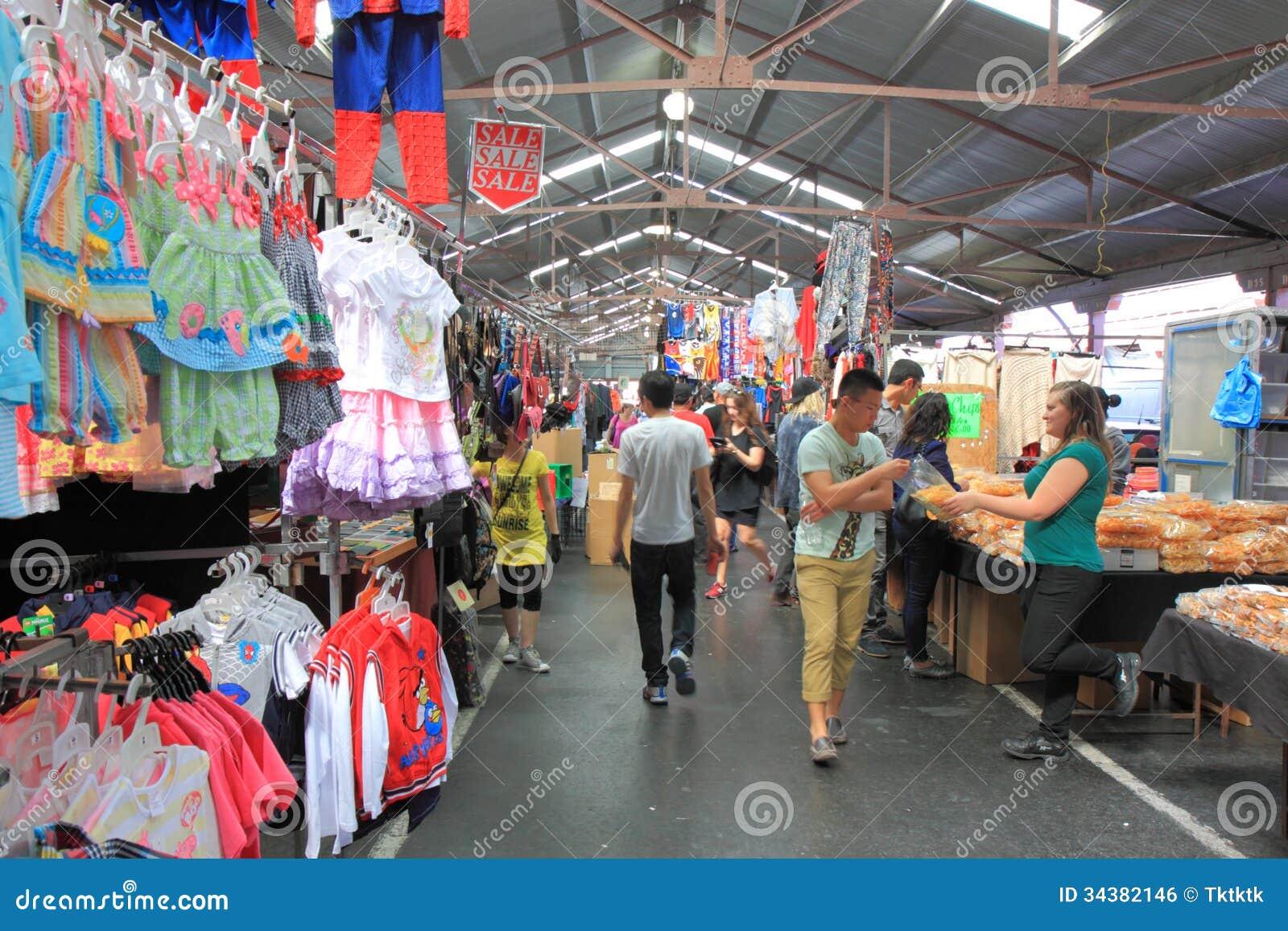 Koningin Victoria Market Melbourne