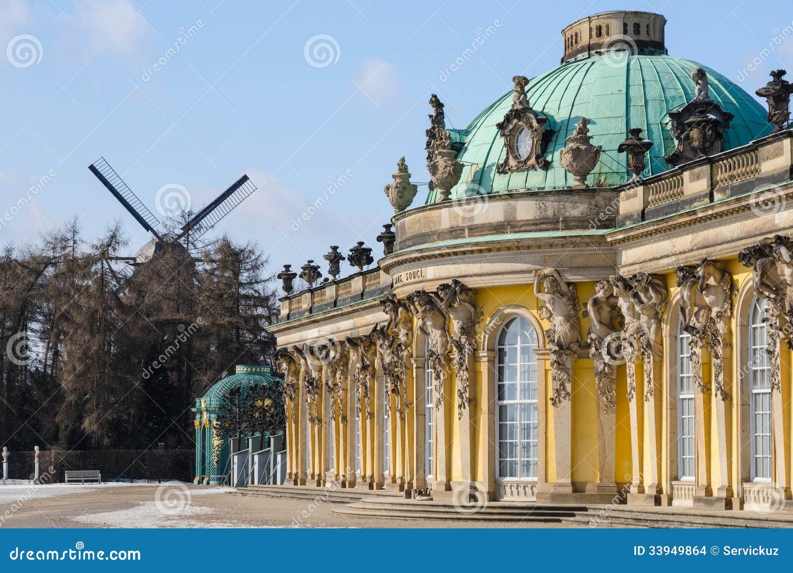 Koninklijk paleis sanssouci in potsdam stock afbeeldingen afbeelding 33949864 - Koninklijk kunstpaleis ...