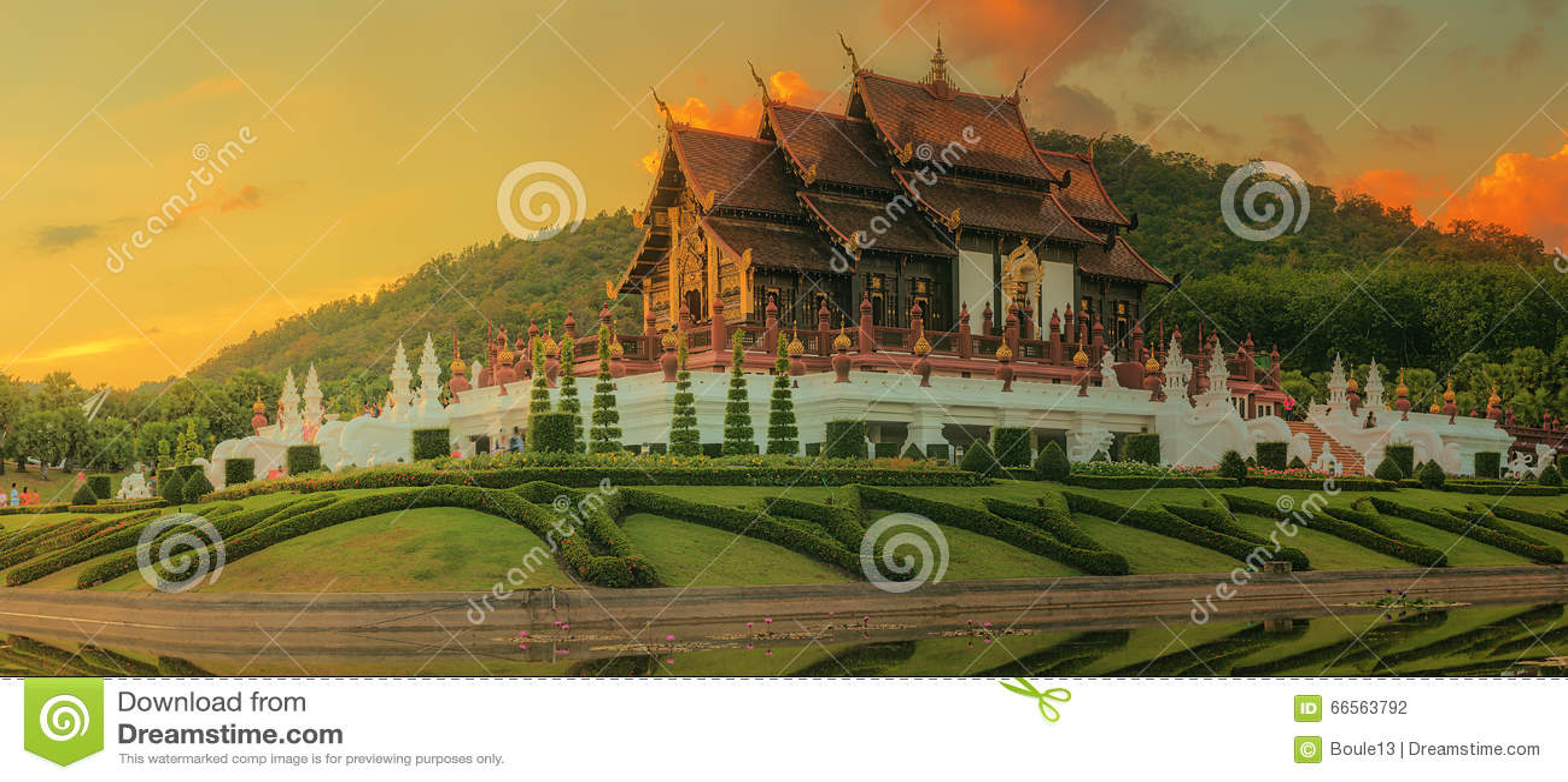 Koninklijke Flora Ratchaphruek Park, Chiang Mai, Thailand