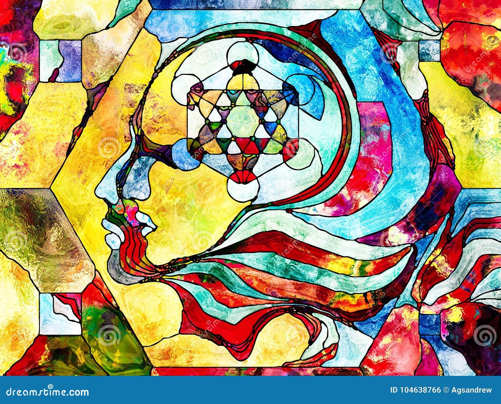 Download Koninkrijken Van Kleurenafdeling Stock Illustratie - Illustratie bestaande uit decoratief, metafoor: 104638766