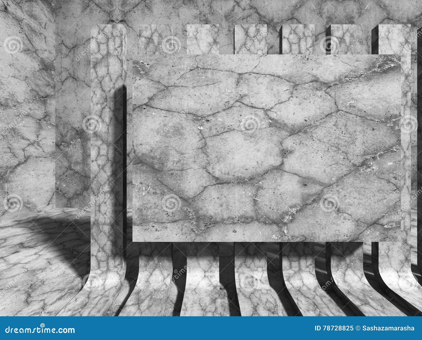 Konkret ljus medelfläckvägg för bakgrund har härlig klar konstruktion Europa för arkitektur den unika formskyen