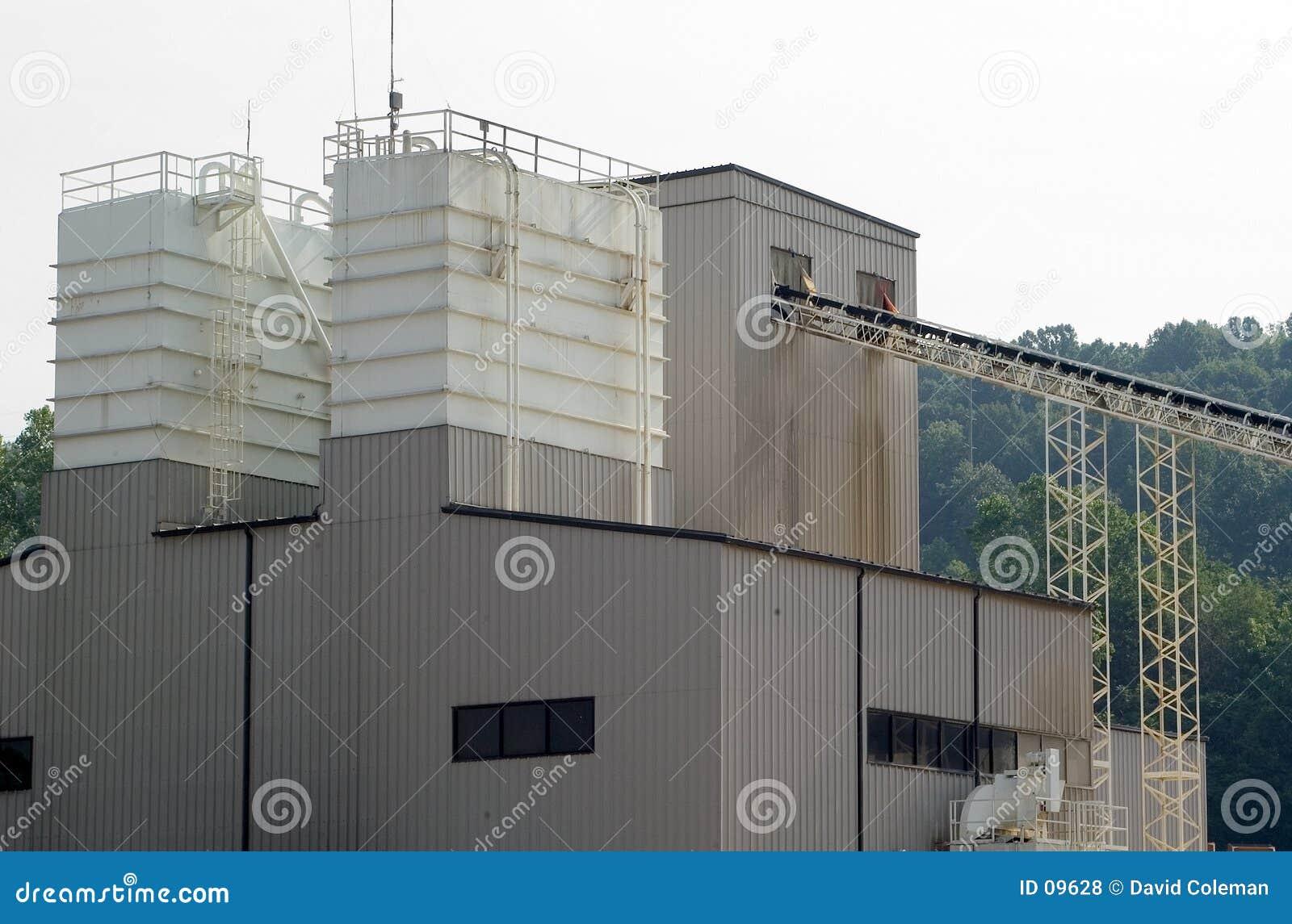 Konkretes Gebäude