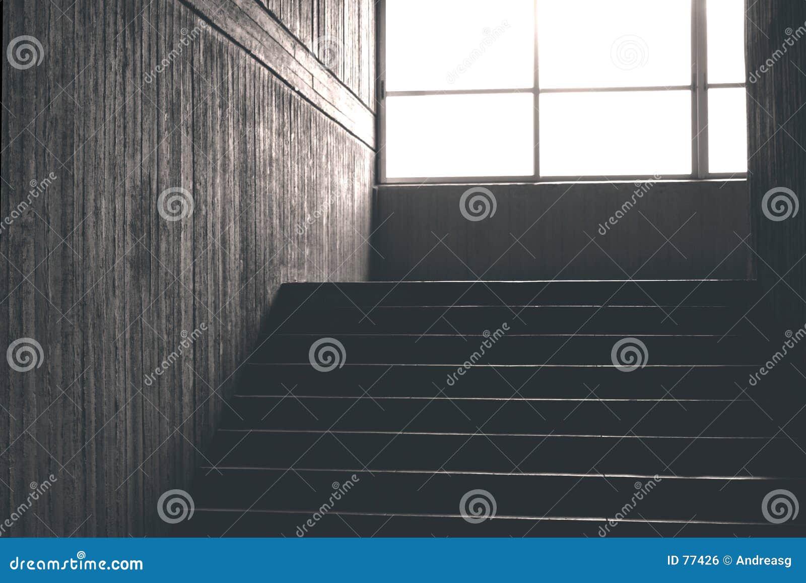 Konkretes Treppenhaus