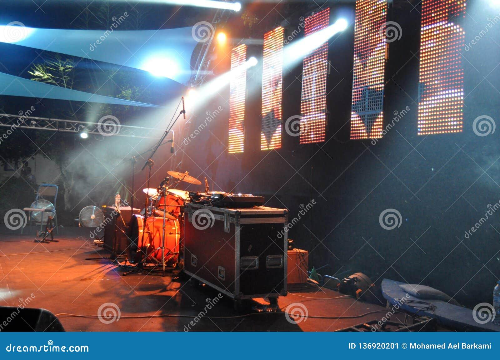 Konsert - musikfestival - bild