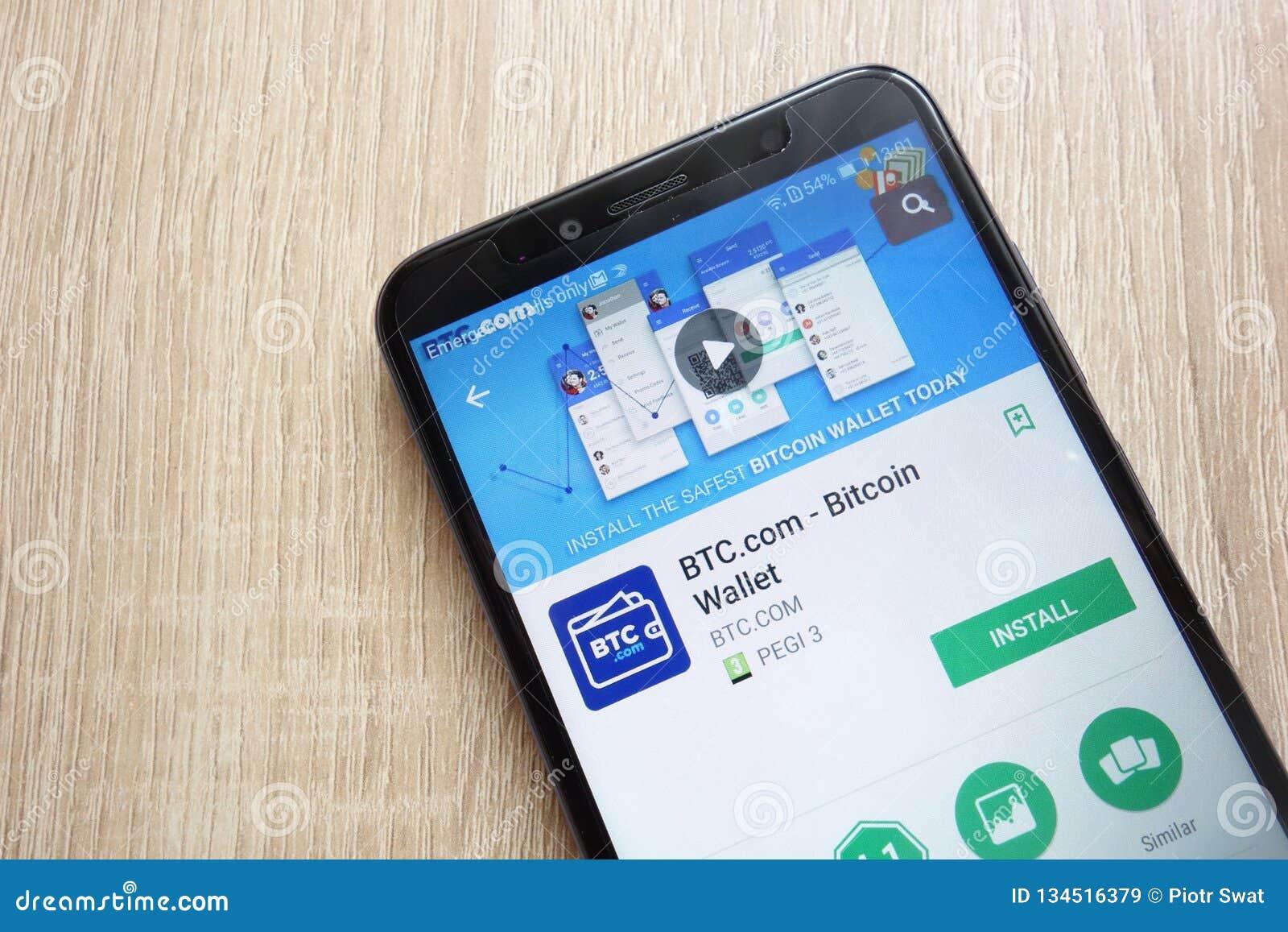BTC com - Bitcoin Wallet App On Google Play Store Website