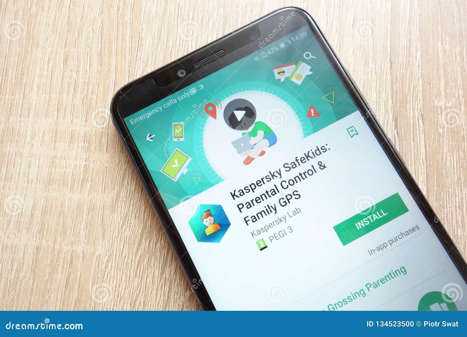 Kaspersky Safe Kids: Parental Control And Family GPS App On