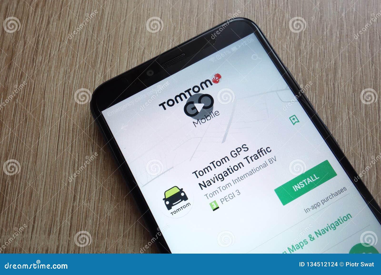 TomTom GPS Navigation Traffic App On Google Play Store