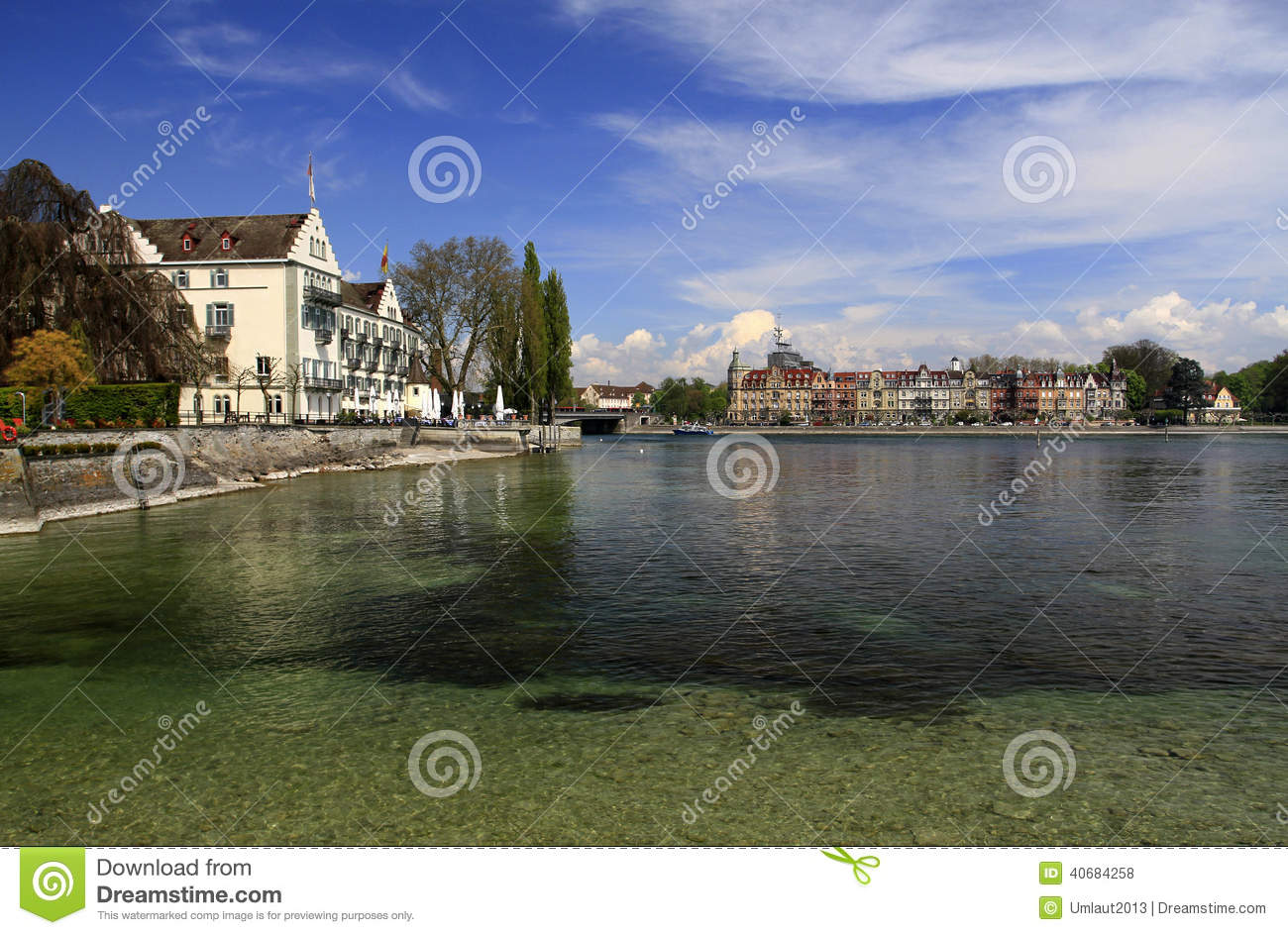Konstanz On The Bodensee Editorial Stock Photo Image Of Port 40684258