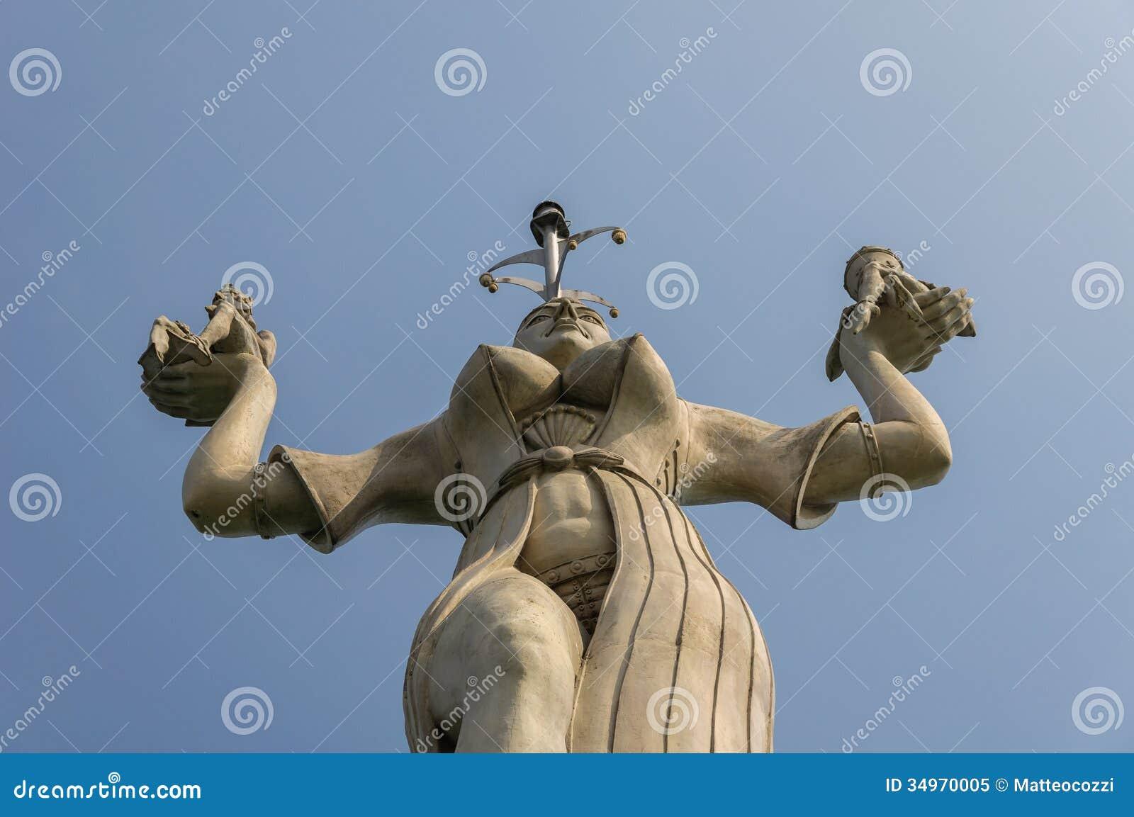 Konstanz, Niemcy: Imperia statua