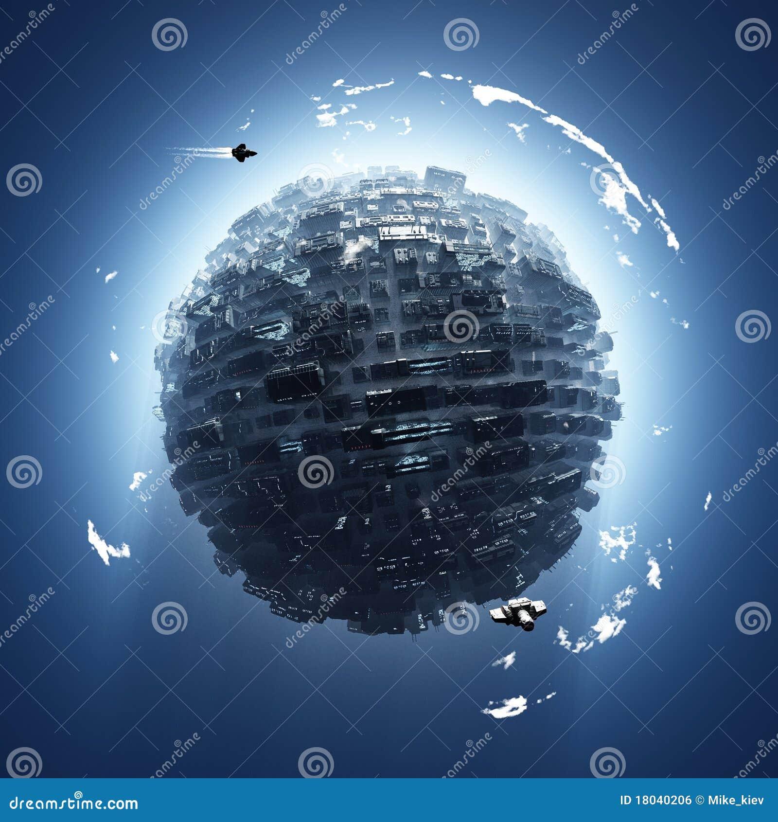Konstgjort planet