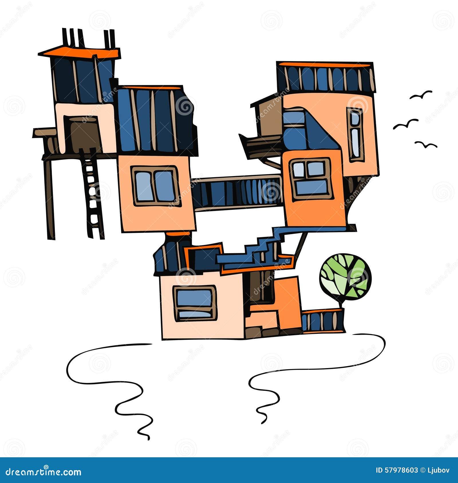 Konstigt hus