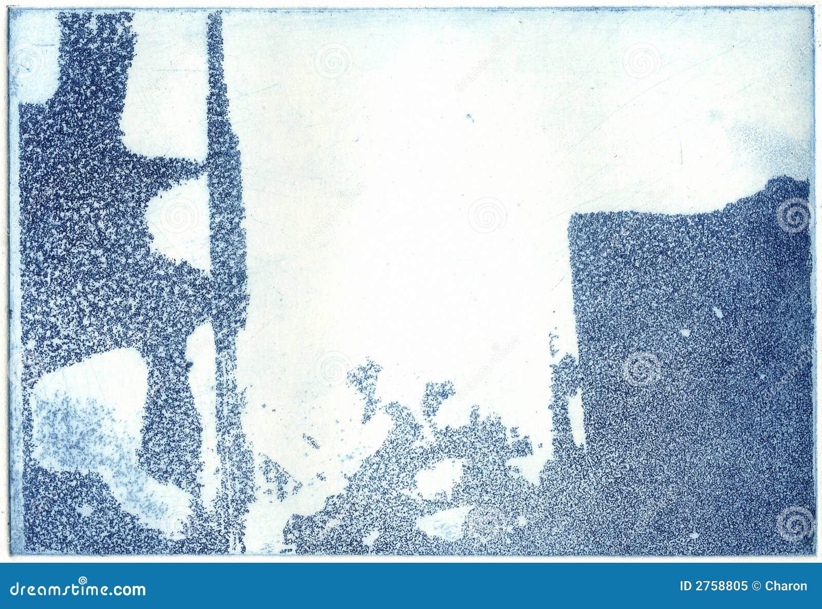 Konstnärlig blockprinting för abstrakt konst