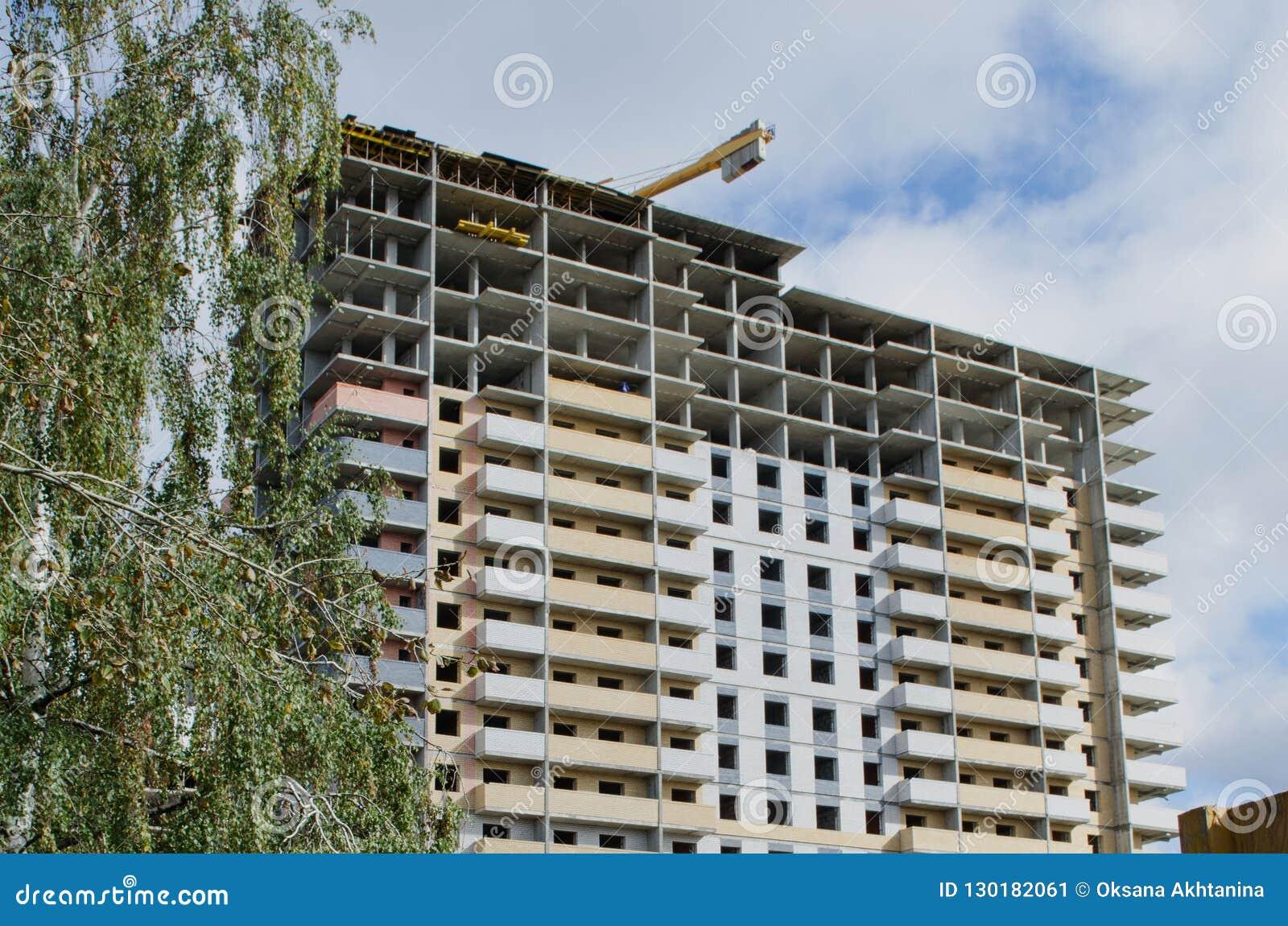 Konstruktion av envåning byggnad