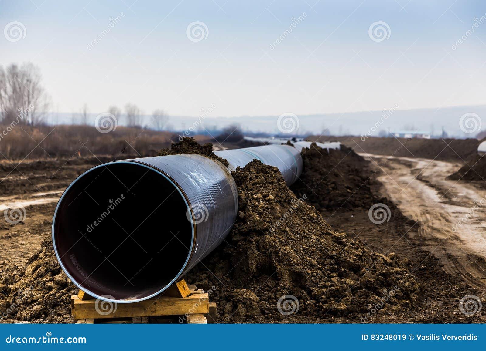 Konstruktion av rörledningen för gasledningtrans. Adriatiska havet - KLAPP