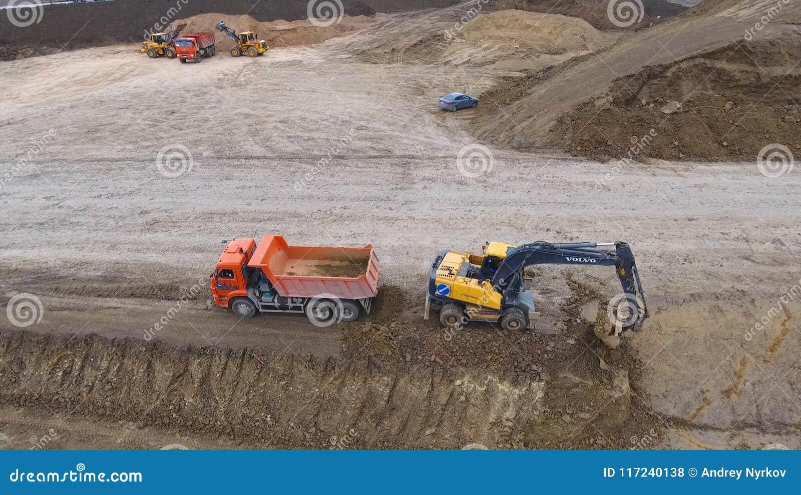 Konstruktion av vägar och transportrörledningar Platskonstruktion