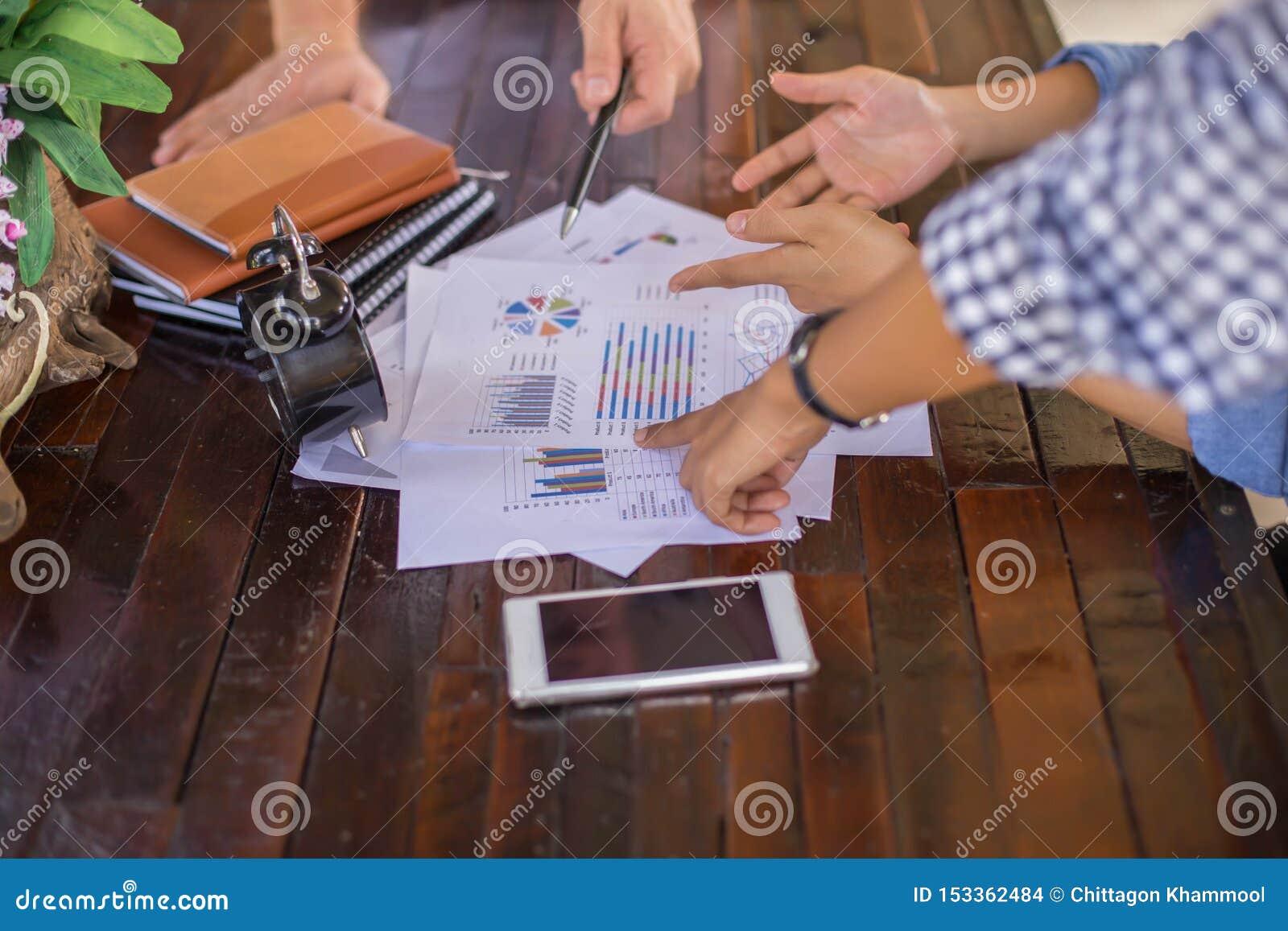 Konsultera ett möte, arbete, studieaffär i aktiemarknaden