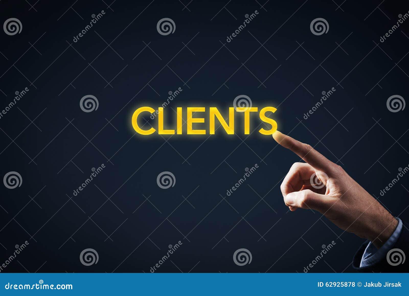 Kontakt mit Kunden
