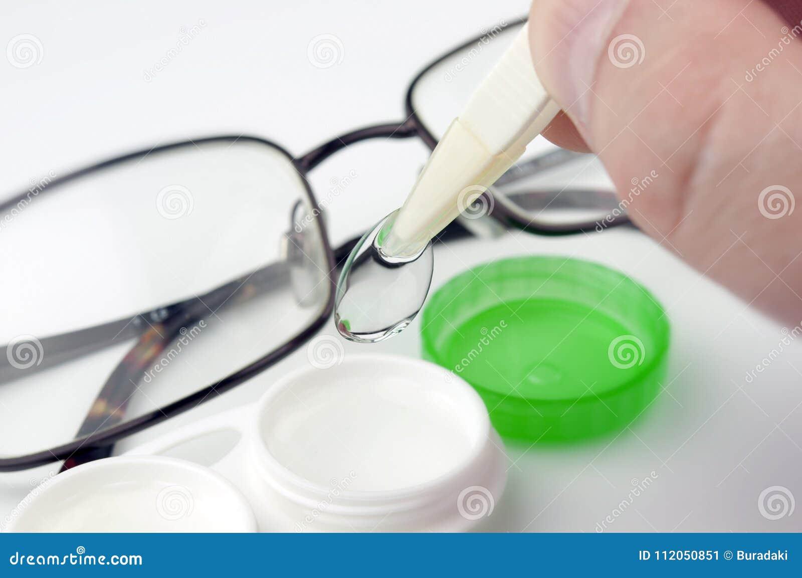 Kontaktlins och fall
