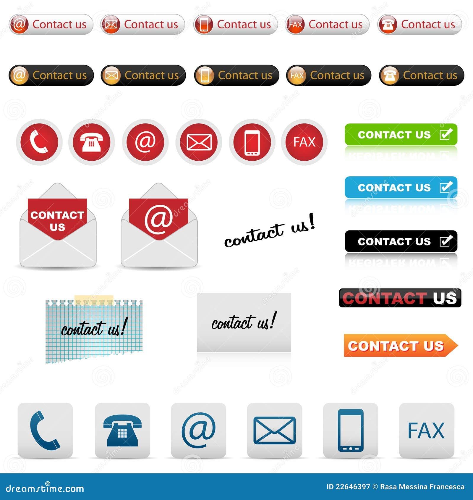 Kontaktowe ikony my