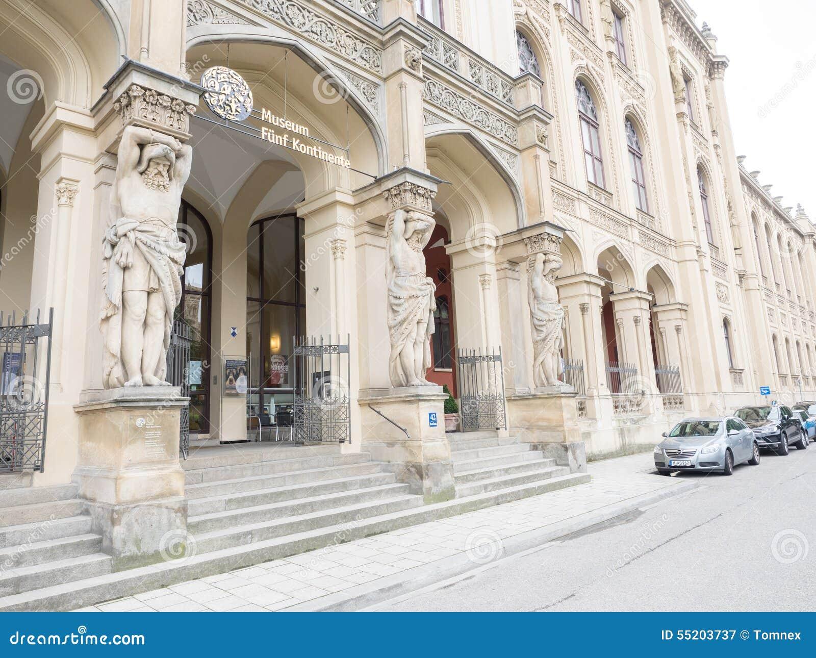 Kontinente München des Museums fünf