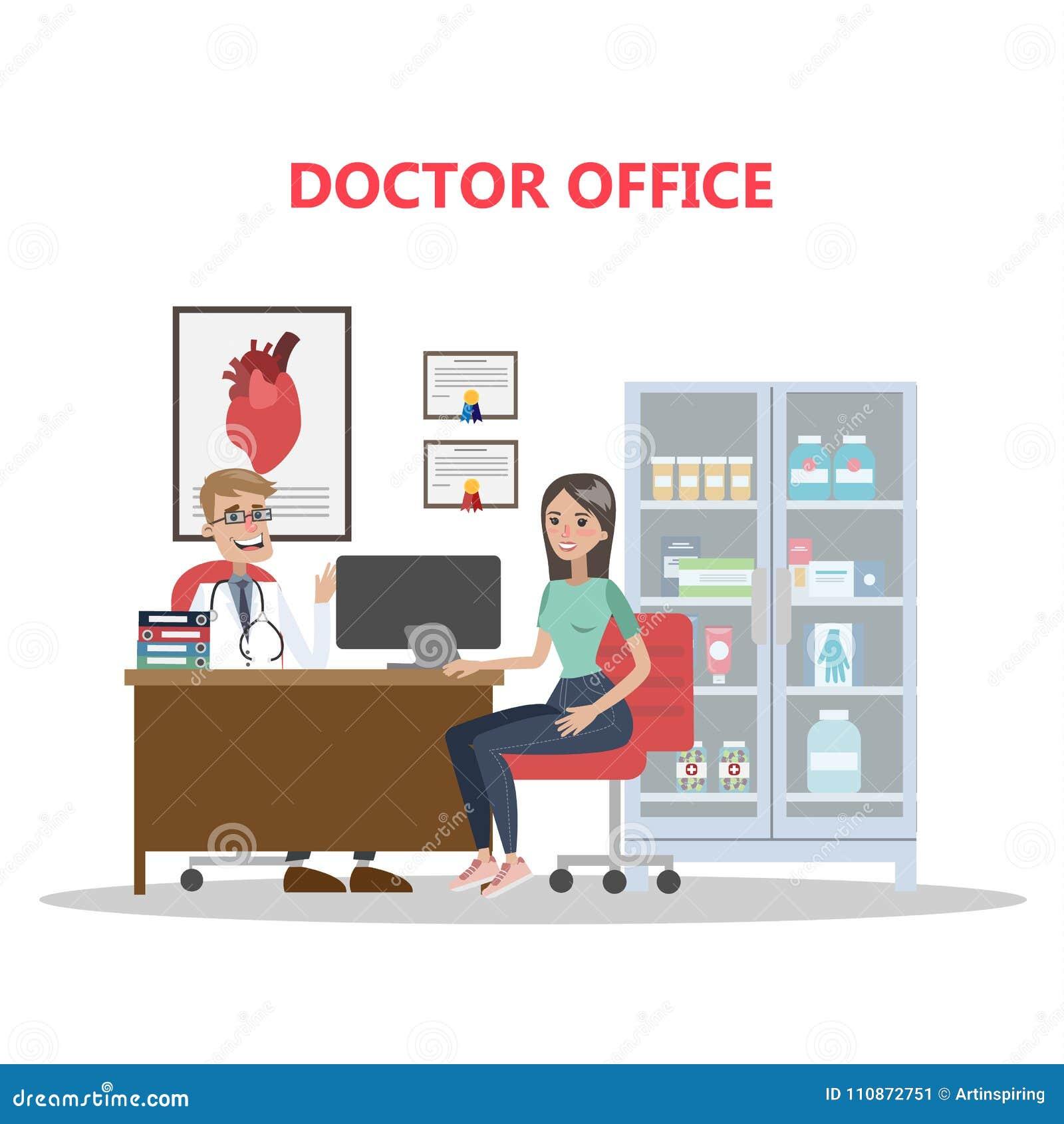 Kontor av doktorn