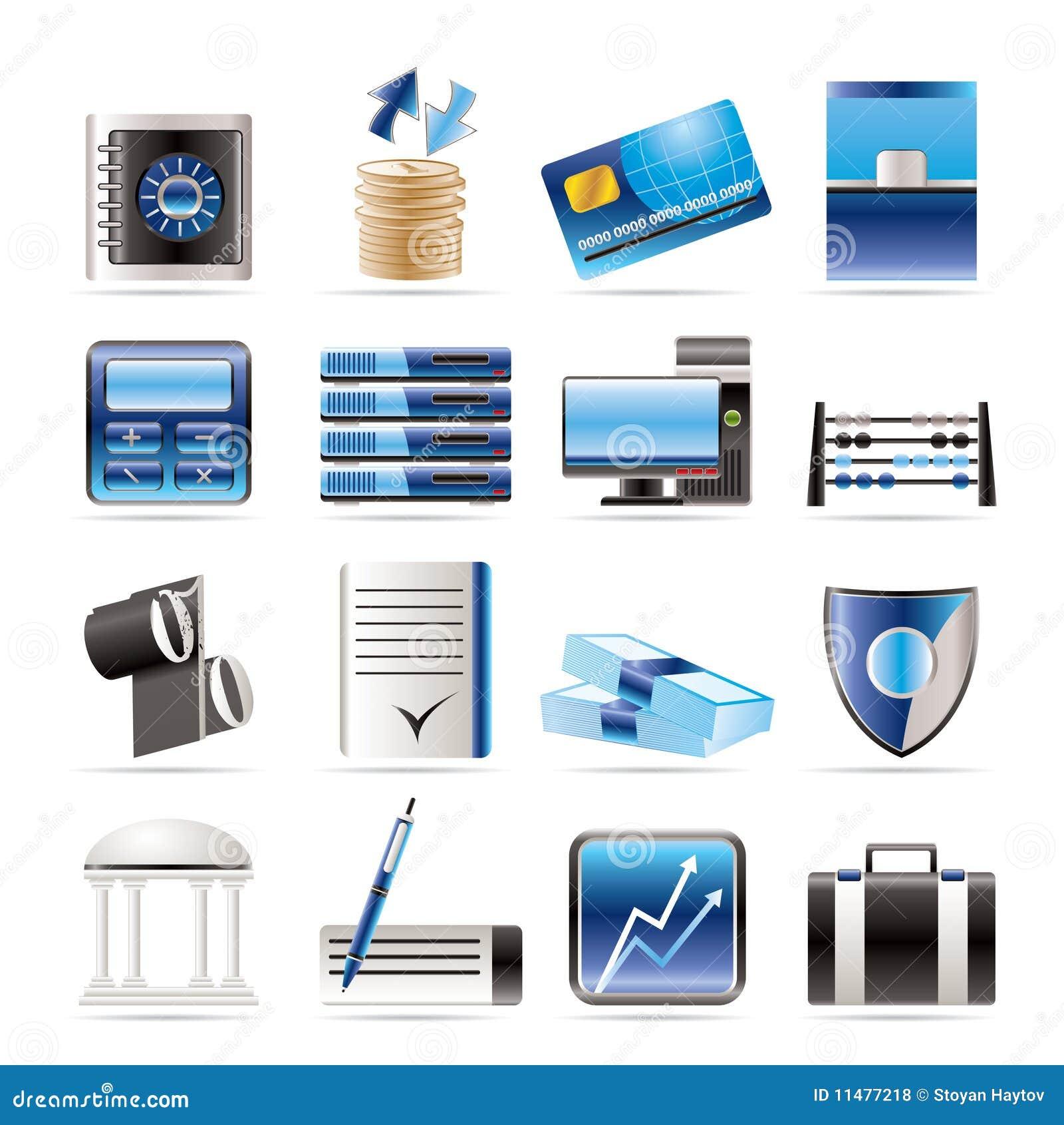 Kontor för symboler för gruppaffärsfinans