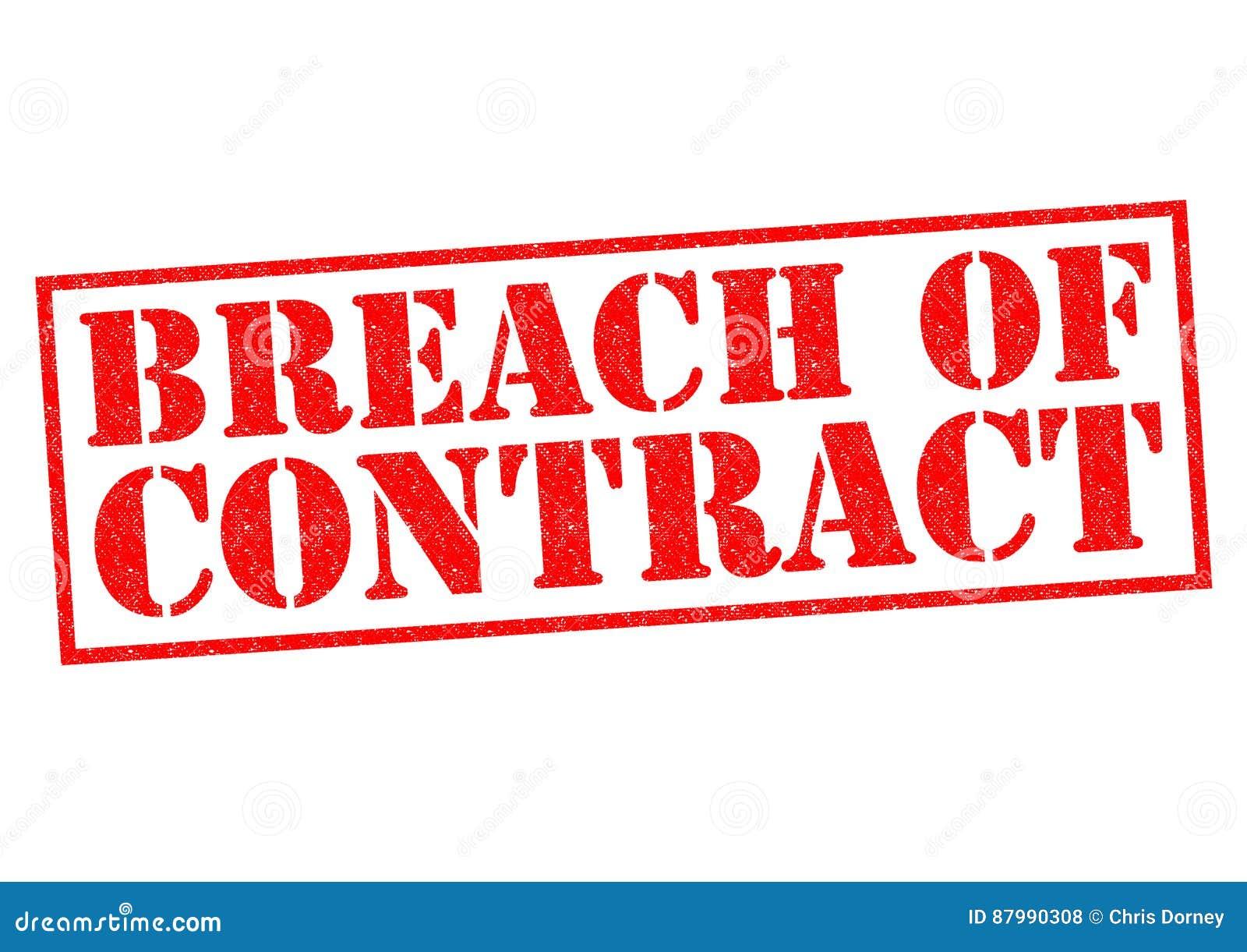 Kontraktsbrott