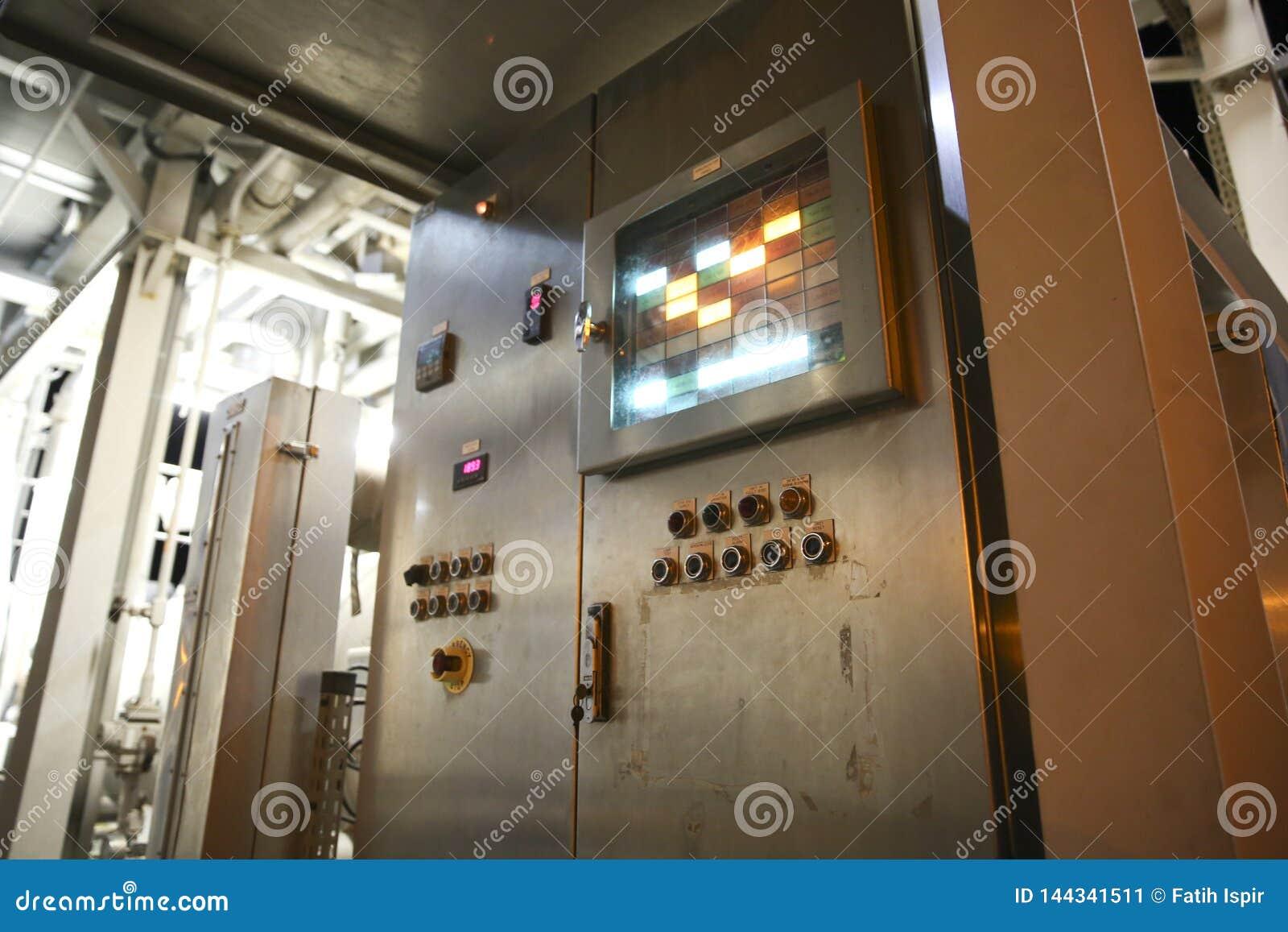 Kontrollera den industriella panelen