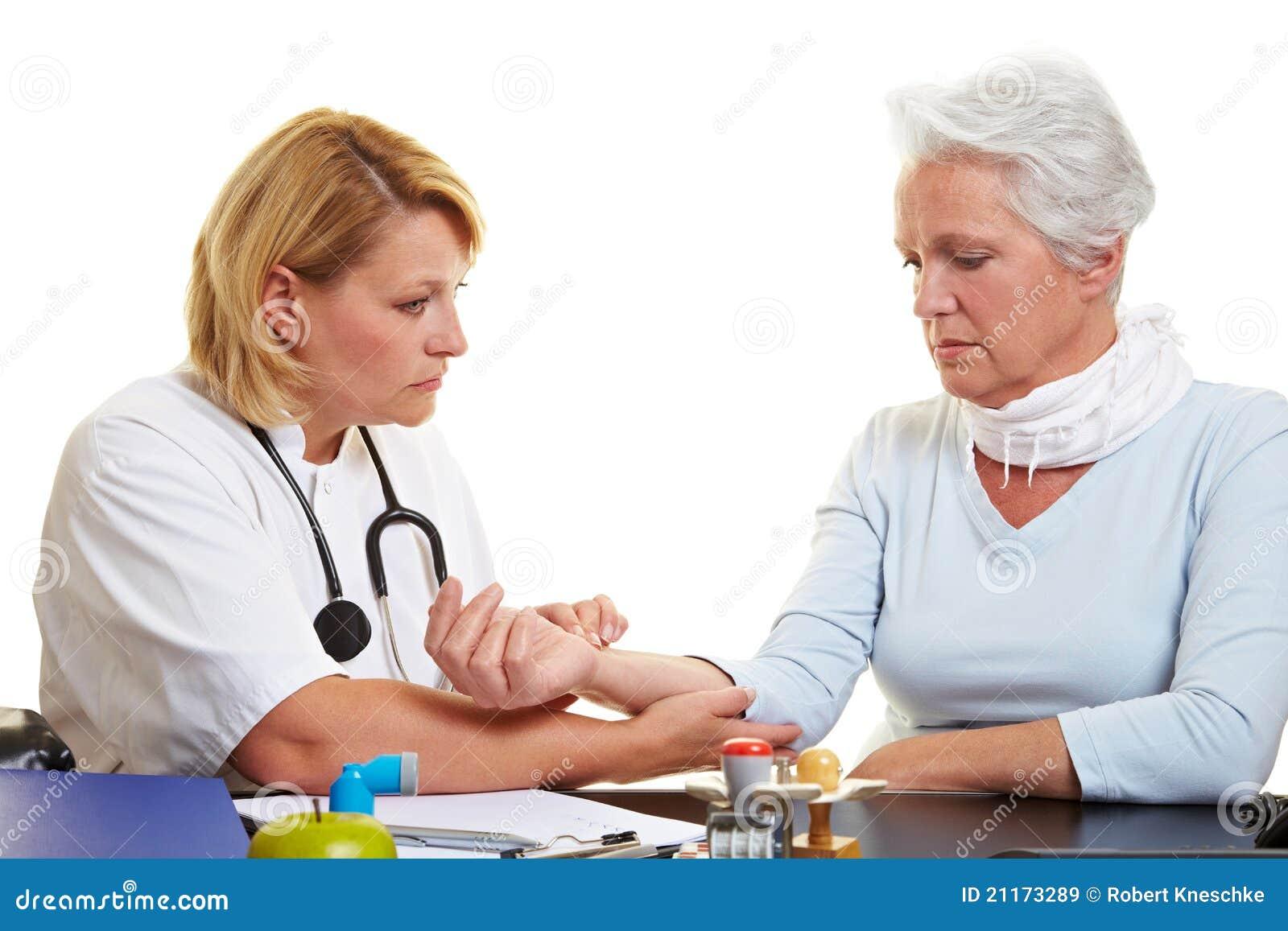 Kontrollera doktorspulspensionären