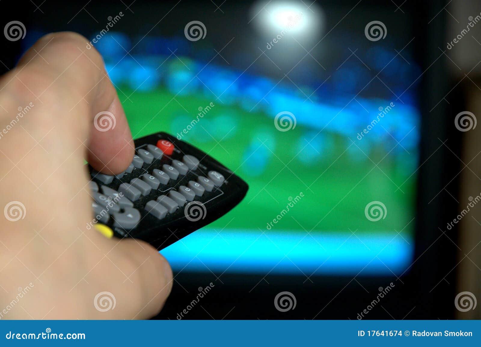 Kontrollera fjärrhålla ögonen på för tv
