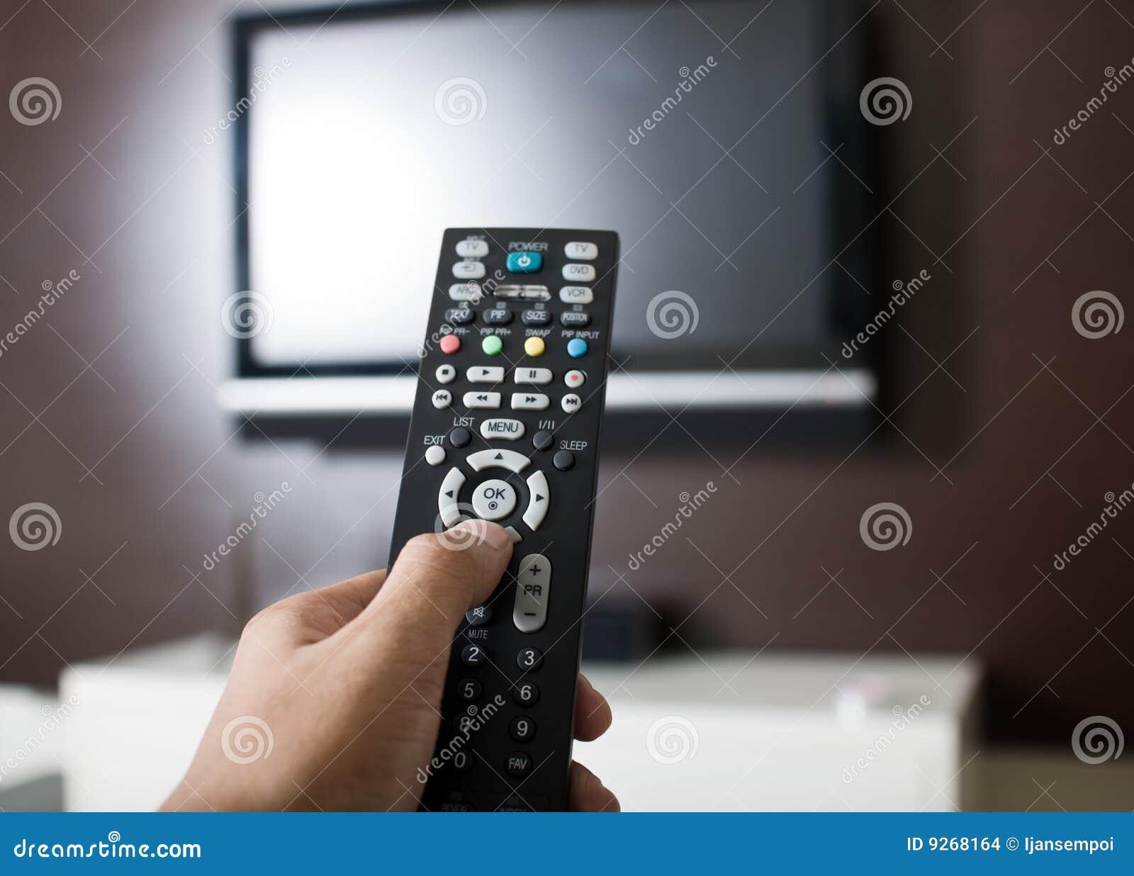 Kontrollera fjärrtelevisionen