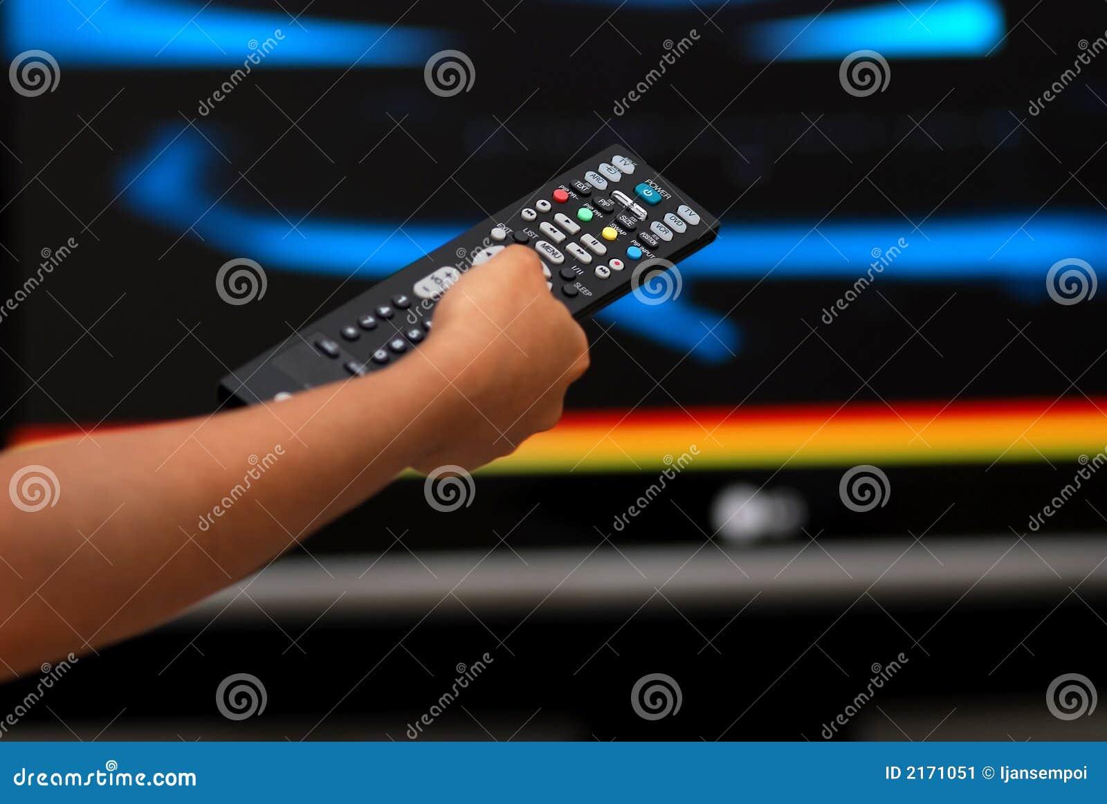 Kontrollera fjärrtelevison