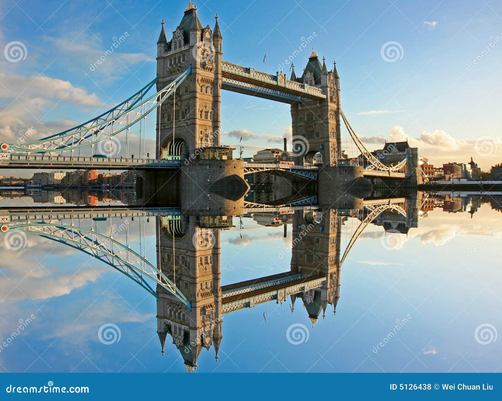 Kontrollturm-Brücke London