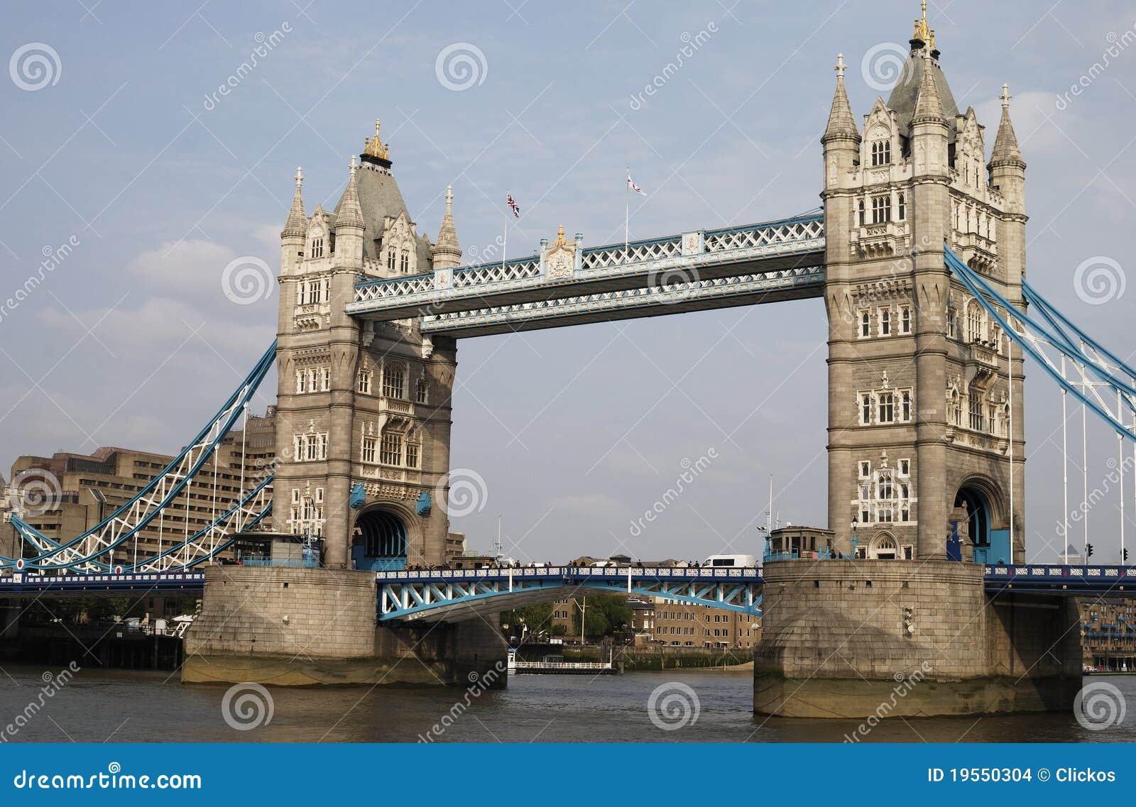Kontrollturm-Brücke. London. England