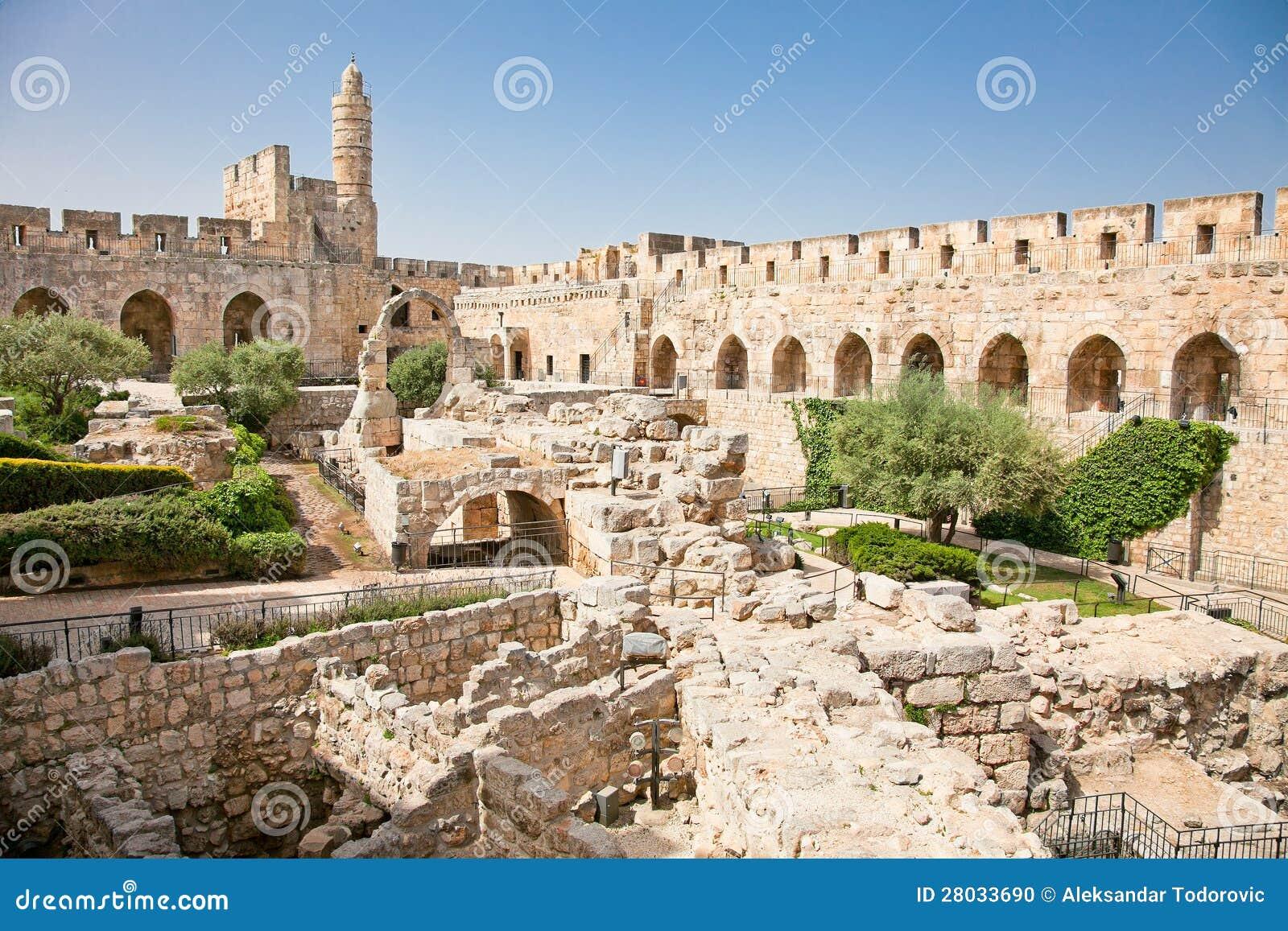 Kontrollturm von David in Jerusalem, Israel