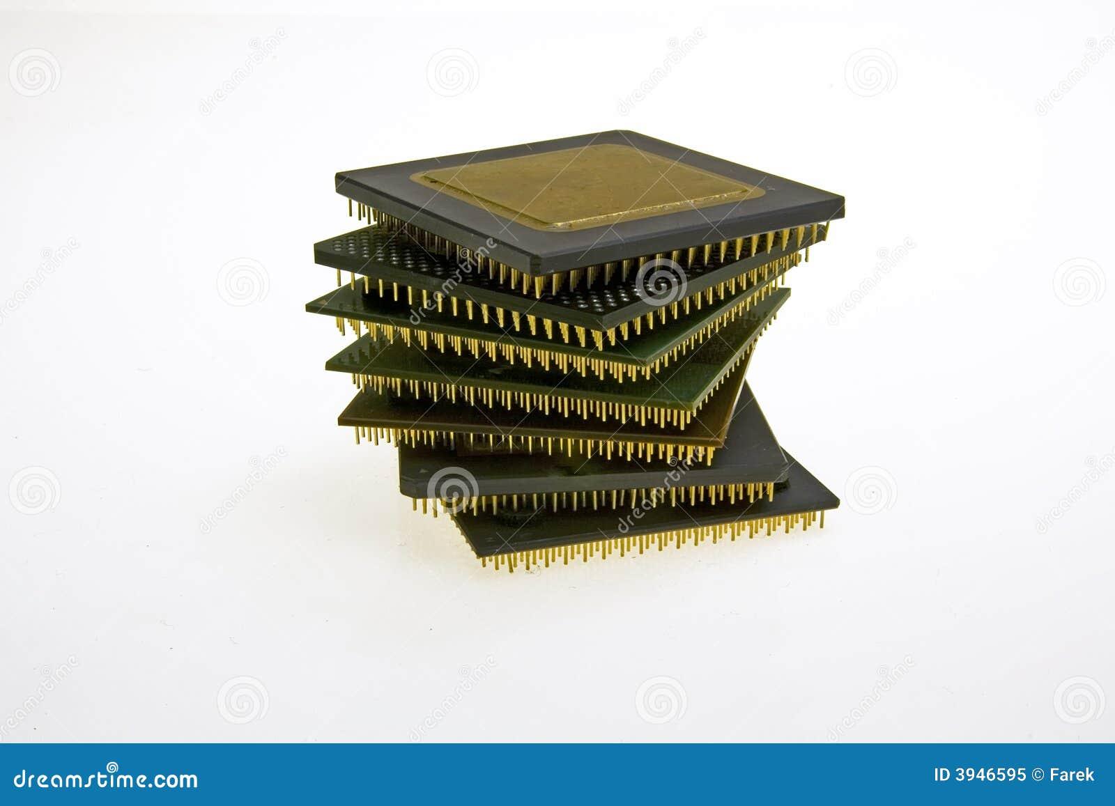 Kontrollturmbau von alter CPU