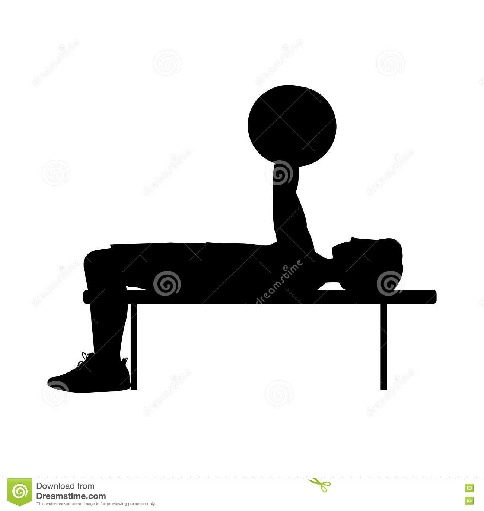 Kontur med mantyngdlyftningsporten