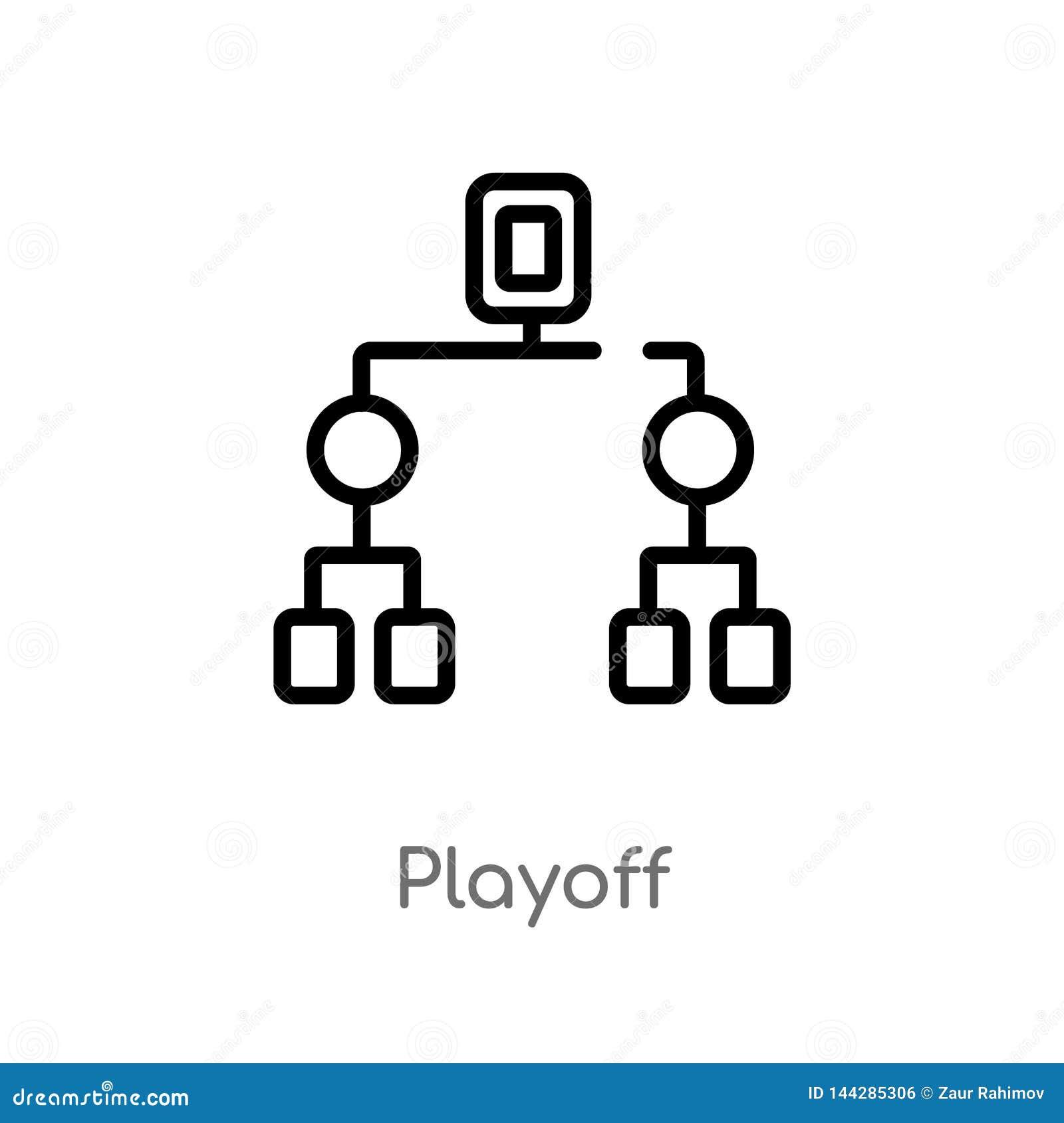 Konturu bara?u wektoru ikona odosobniona czarna prosta kreskowego elementu ilustracja od hokejowego poj?cia editable wektorowy ud