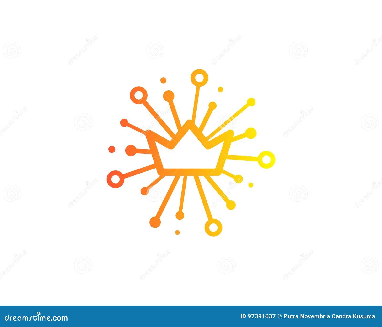 Konung Share Icon Logo Design Element