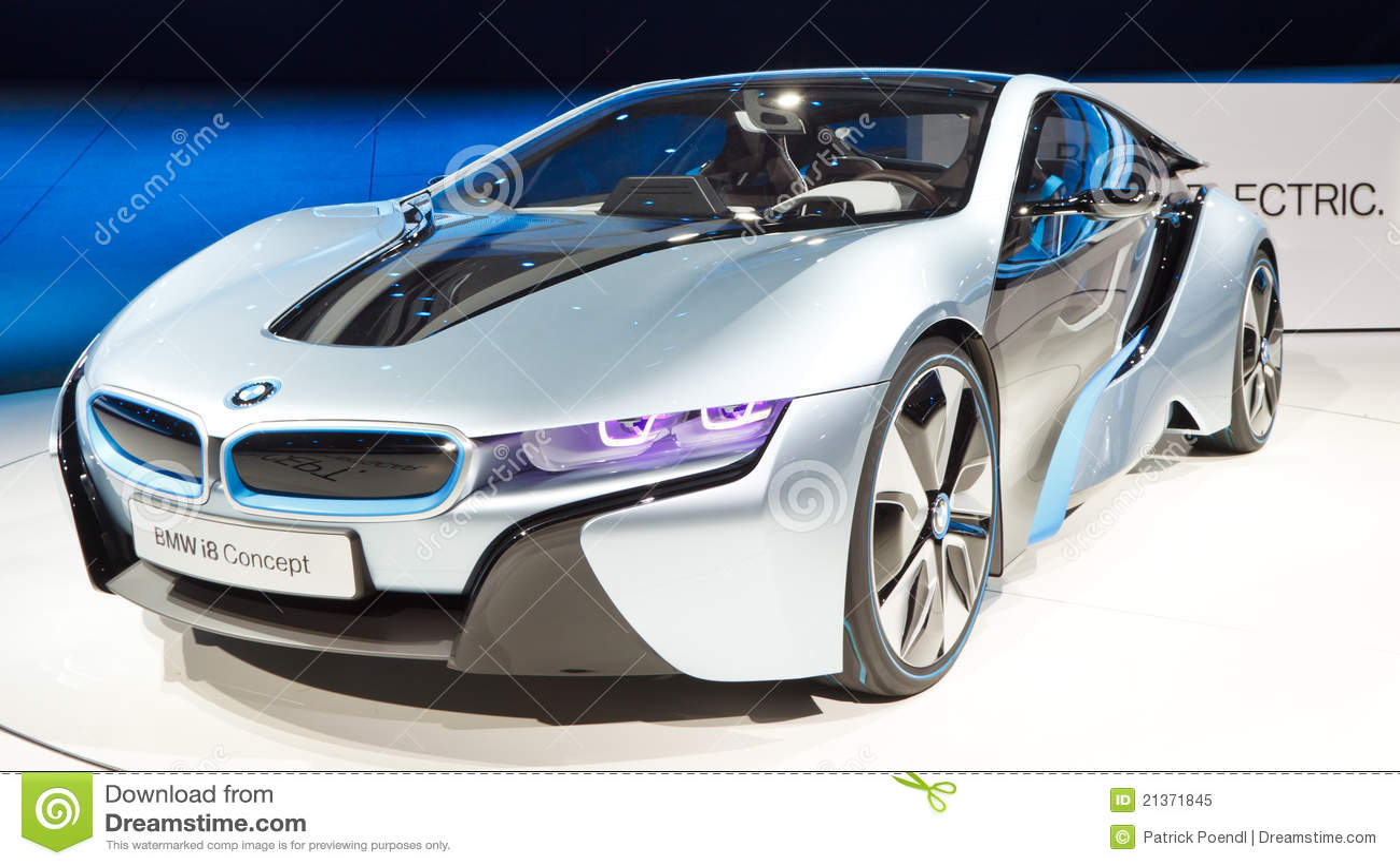 Konzept Auto Bmw I8 Redaktionelles Bild Bild Von Elektrisch 21371845
