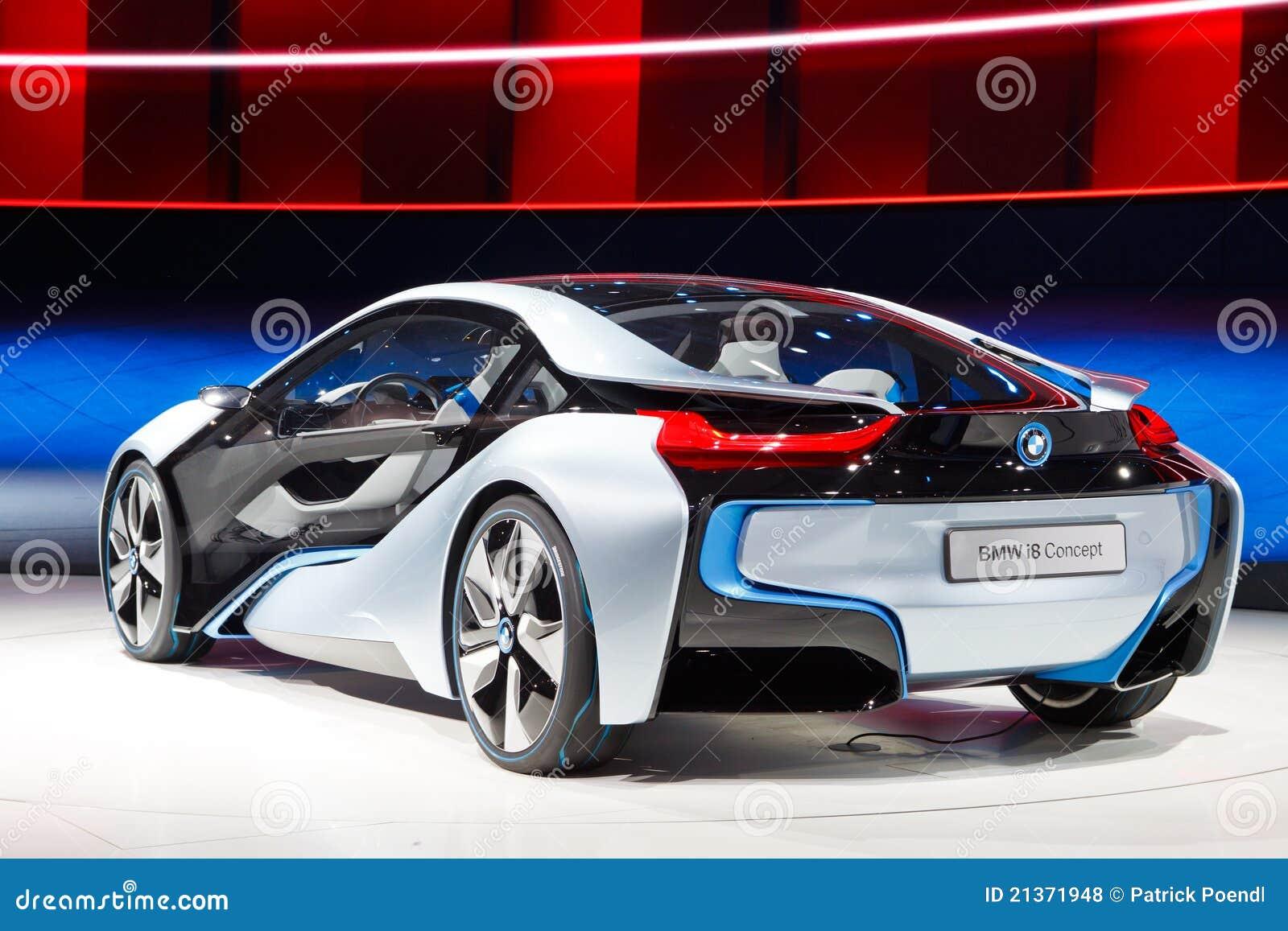Konzept-Auto BMW-i8